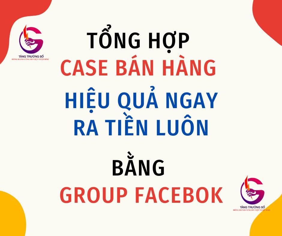 Group Facebook kênh bán hàng vô cùng hiệu quả