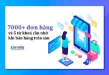 bán hàng online trên sàn TMDT