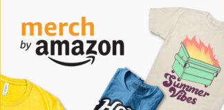 hình thức kiếm tiền online Merch by Amazon