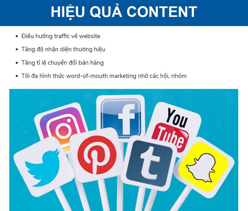 6 dạng content marketing hiệu quả
